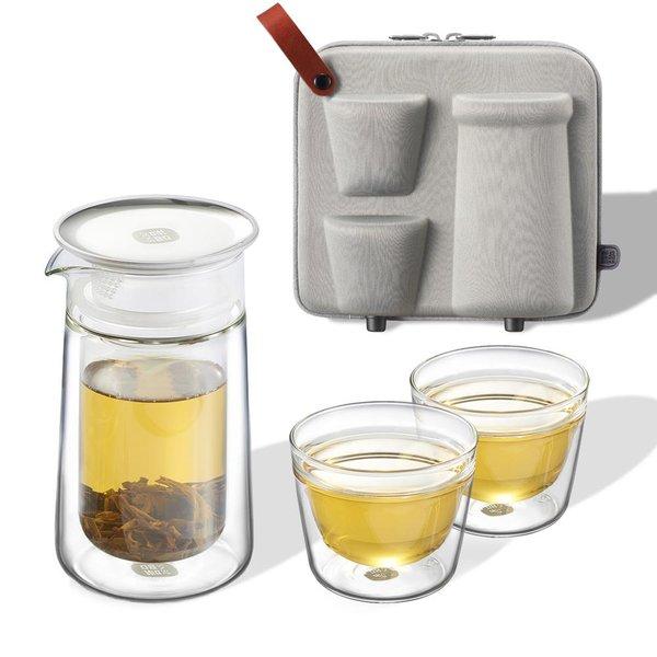 Epitex Portable Mobile Moon Portable Tea Set | Gift Set