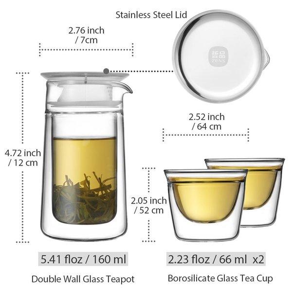 Epitex Portable Mobile Moon Portable Tea Set   Gift Set