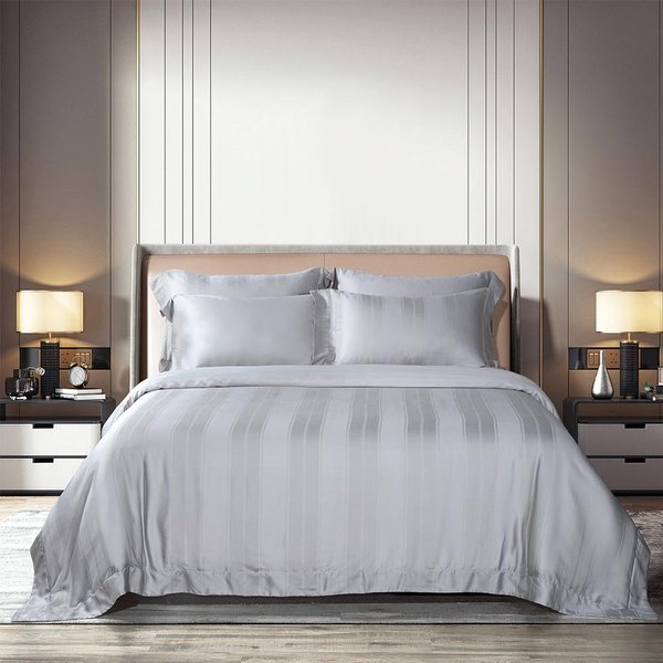 Epitex Aqualine Collection AQ3309 1600TC Dobby Bedsheet | Bedset