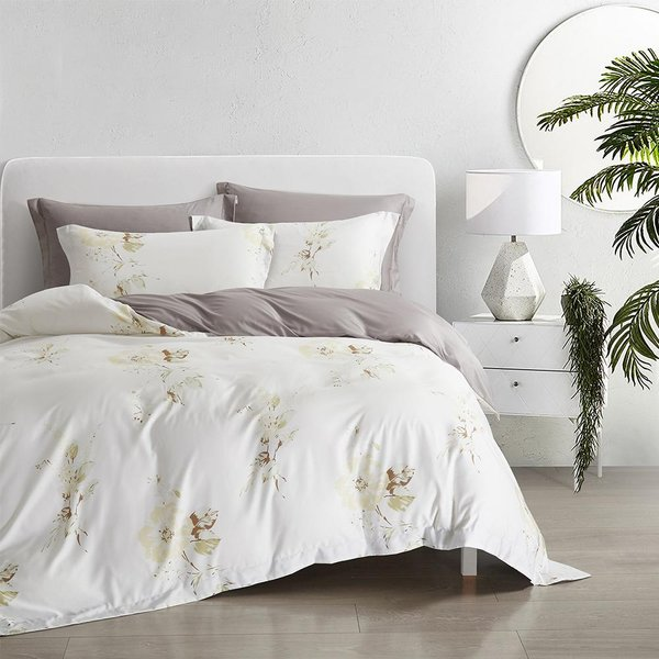 Epitex Nutex Bamboo BP5308-01 1200TC Fitted Sheet Set | Bedset
