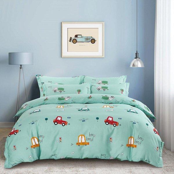 Epitex CK2049 900TC Cotton Fitted Sheet Set | Bedsheet Set