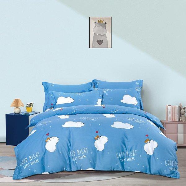 Epitex CK2052 900TC Cotton Fitted Sheet Set | Bedsheet Set