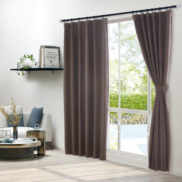 Epitex Clasica CLA301-2 Ready Made Curtain (Brown)