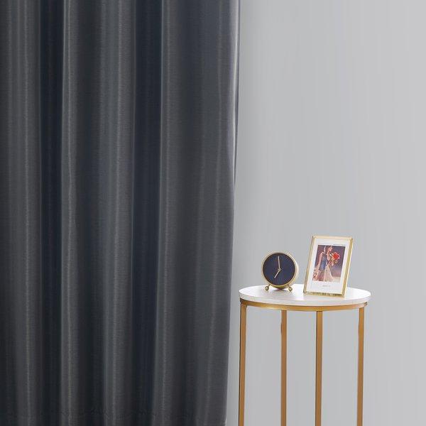 Epitex Clasica CLA301-3 Ready Made Curtain (Black)