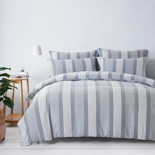 Epitex Urutora EC7805 1400TC Stonewashed Yarn-Dyed Bedsheet