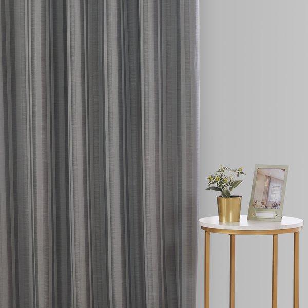 Epitex Luxury GRA200-1 Ready Made Curtain (Soft Grey)