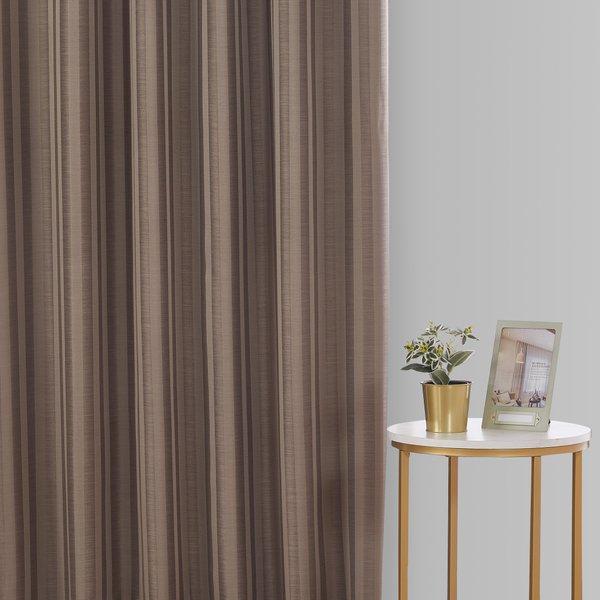 Epitex Luxury GRA200-2 Ready Made Curtain (Cocoa)