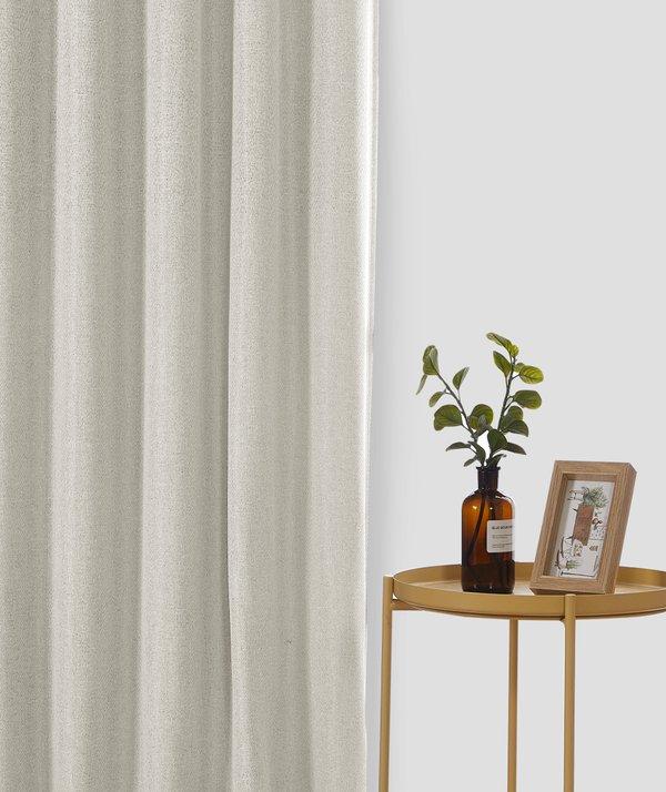 Epitex Luxury GRA201-3 Ready Made Curtain (Off White)