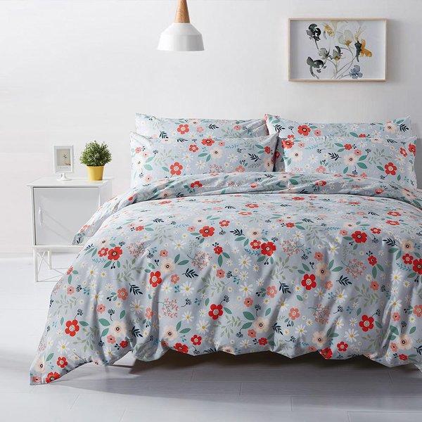 Epitex Homu Cotton HP2038-3 900TC 100% Cotton Bed Sheet Set