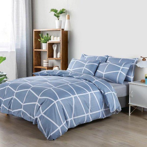 Epitex Homu HP9508 900TC Bedsheet | Fitted Sheet Set