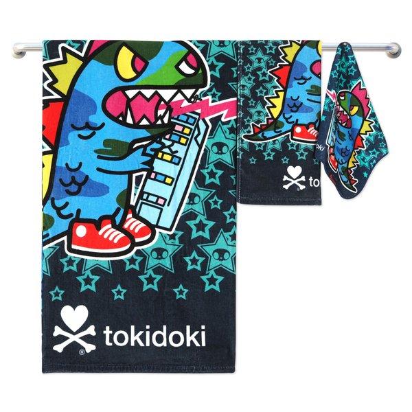 Tokidoki TK601-2 Bath Towel (3 Sizes) | Face Towel | Hand Towel | Gym Towel