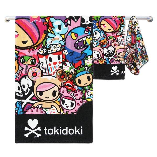 Tokidoki TK601-5 Bath Towel (3 Sizes) | Face Towel | Hand Towel | Gym Towel