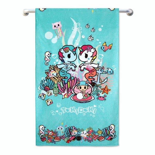 Tokidoki TK601-3 Bath Towel (3 Sizes)   Face Towel   Hand Towel   Gym Towel