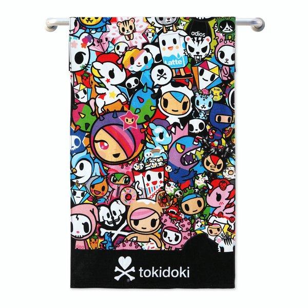 Tokidoki TK601-5 Bath Towel (3 Sizes)   Face Towel   Hand Towel   Gym Towel