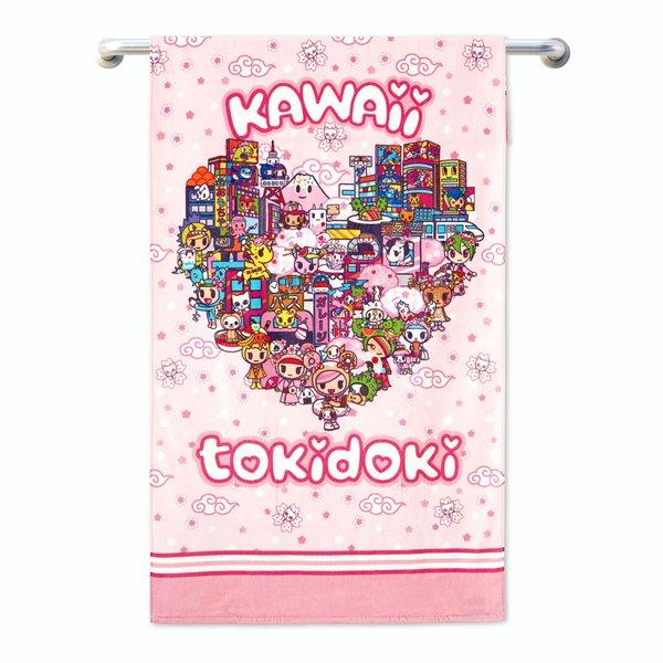 Tokidoki TK601-6 Bath Towel (3 Sizes)   Face Towel   Hand Towel   Gym Towel
