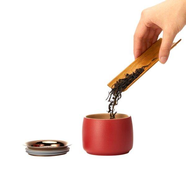Epitex Premium Bright Moon Mini Twin Ceramic Travel Tea Set | Gift Set