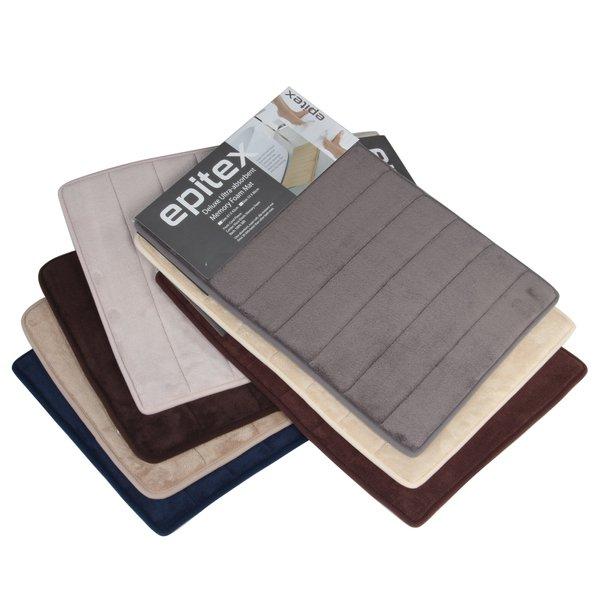 Epitex Deluxe Ultra-Absorbent Memory Foam Floor Mat