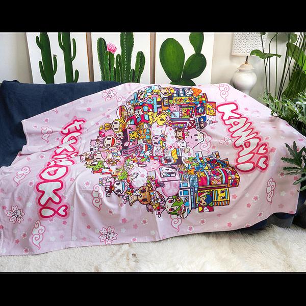 Tokidoki TK617 Towel Blanket