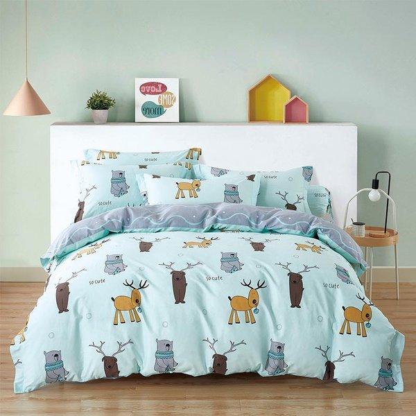 Epitex CK2035-1 900TC Cotton  Bedset | Bedsheet Set