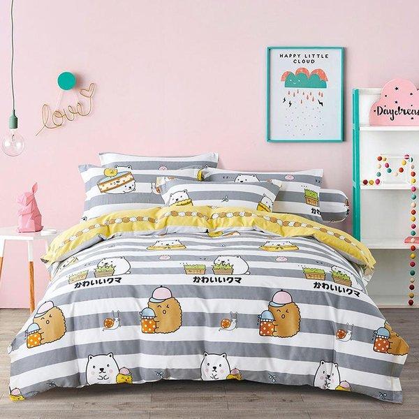 Epitex CK2035-2 900TC Cotton  Bedset | Bedsheet Set
