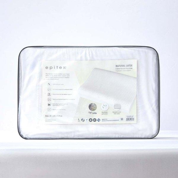 Epitex 100% Natural Latex Contour Pillow