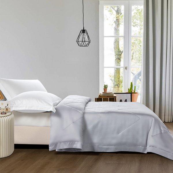 Epitex Tencel Quilt | Blanket EK1815 (Light Grey)