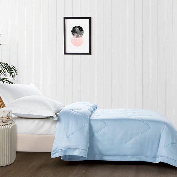 Epitex Tencel Quilt   Blanket EK1817 (Light Blue)